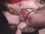 Pierced and tattooed German mature Thumbnail