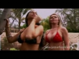 Hot babes in sexy bikini in heat Thumbnail