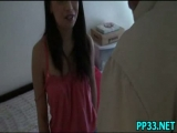 Cute girl shows her tr...