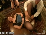 Extreme fantasy of girl bound and double penetrated Thumbnail