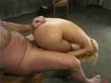 Lady with round tits tied spanked filled with toys then fucked Thumbnail