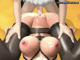 Animated blonde with stockings riding a cock Thumbnail