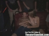 Teen Girl Gets Ass Full Of Cum in a Dirty Porn Theater Thumbnail