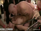 Interracial bondage sex Thumbnail