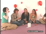 College sexgames with shy teens feeling a little awkward Thumbnail