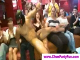 Cock addicted babes at cfnm party Thumbnail