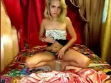 Blonde With Small Tits On Webcam Thumbnail