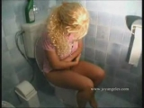 Sexy lady farting pooping on toilet 3 Thumbnail