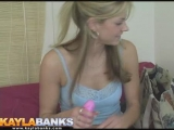 Kayla Banks stripping Thumbnail
