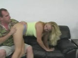 Guy spanking blonde bgirl Thumbnail