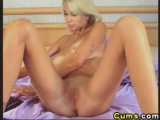 Dildo on a hot anal