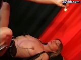 Blonde gets fisted and drilled Thumbnail