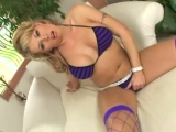 Masturbating in fencenet stockings Thumbnail
