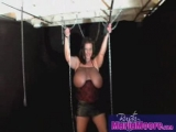 Busty MILF in Chains Thumbnail