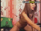 Hot Asian Dildo Fucking on Cam Thumbnail