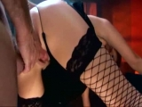 Sex in boots and fishnet stockings Thumbnail