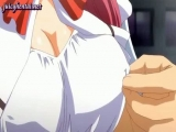 Hot anime redhead with stockings Thumbnail