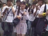 Japanese school girl public nudity Thumbnail