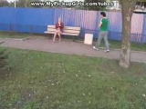 Public Blowjob in the ...