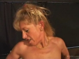 Pierced MILF in black stockings hardcore Thumbnail