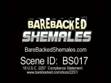 No Condom Shemale Fucking with Ass Spermshots Thumbnail