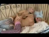 Beautiful Blonde Teen Strapon Toy Fucks Hot Girlfriends Moist Pussy And Tight Asshole Thumbnail