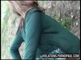 Busty blond outdoor doggystyle Thumbnail