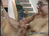 Teen girl with glasses giveshornyl blowjob Thumbnail