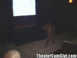 Sex Crazed Ebony Freak Monique Goes Buck Wild in a Porn Theater Thumbnail