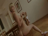 blonde masturbation on the table Thumbnail