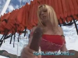 Blonde t-girl handjob Thumbnail
