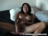 Homemade asian big tit Maja Lee porn sucking toy girlfriend playing Thumbnail