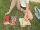 Beauty teenie masturbating at park Thumbnail