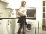 housewife in stockings...