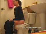 GIRL FARTING IN THE BATHROOM Thumbnail