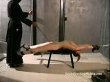 Skinny redhead woman tied up and gagged loves bondage Thumbnail