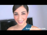 Horny arab teen gets f...