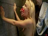 Paris Hilton looking blonde babe teached some hard bondage sex lessons Thumbnail