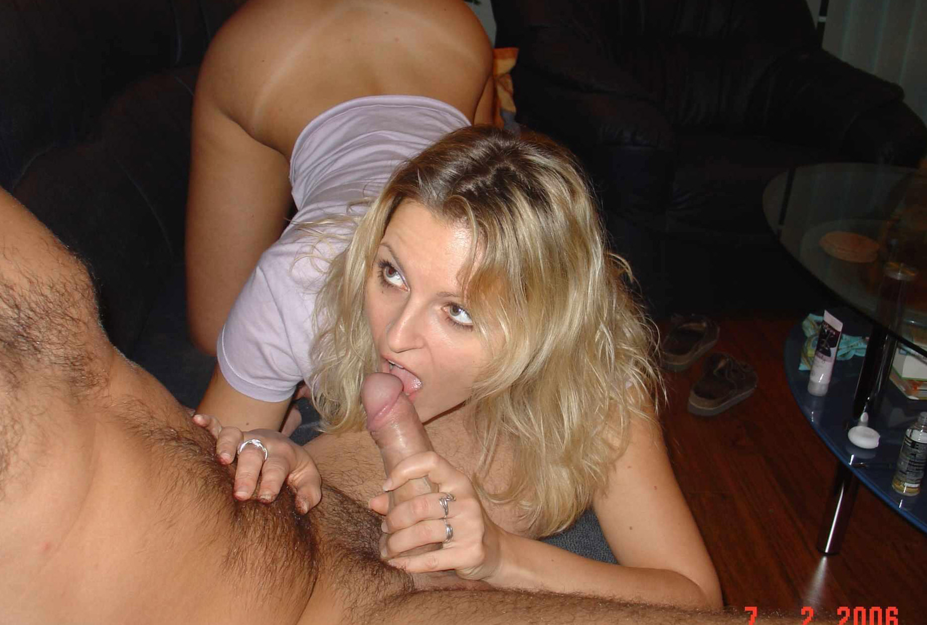 Blowjob and a mouthful of cum