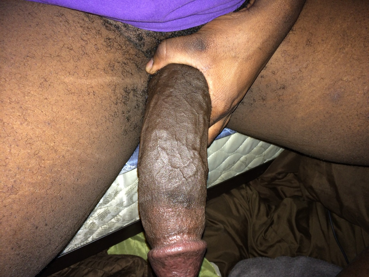 Large black cock