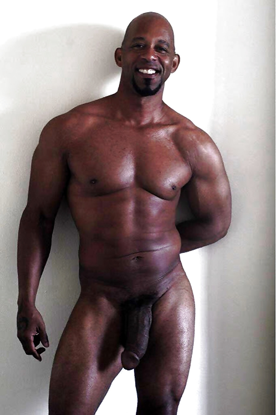 Dicks Sexy Big Men Black With#6