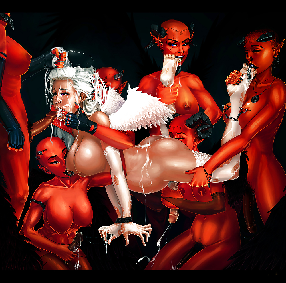 Angels and demons xxx porn erotica streaming