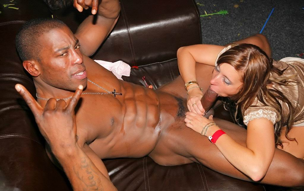 Awesome interracial fucking on college wild parties