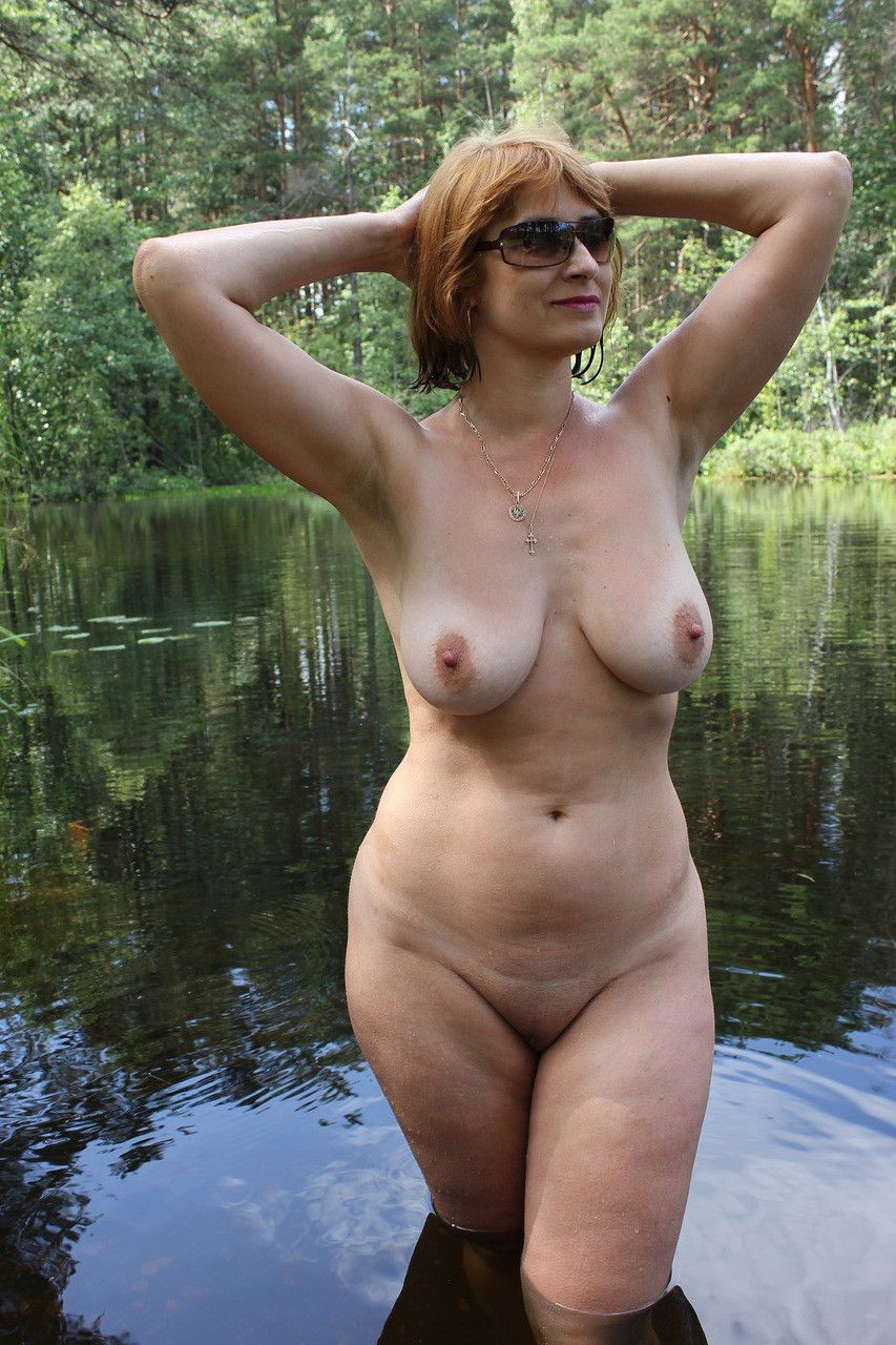 tits Mature with nice