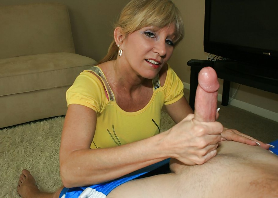 Men giving hand job
