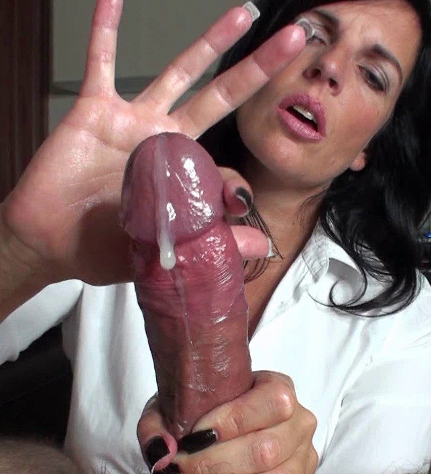Latina handjob collection for