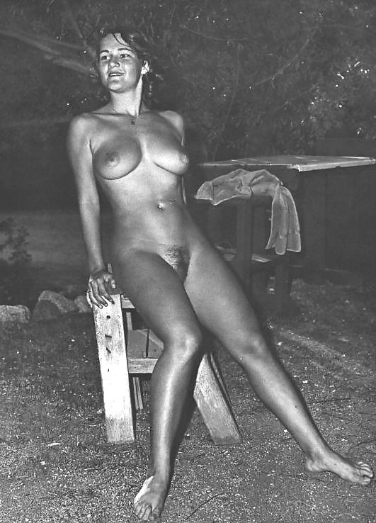 nudist log vintage