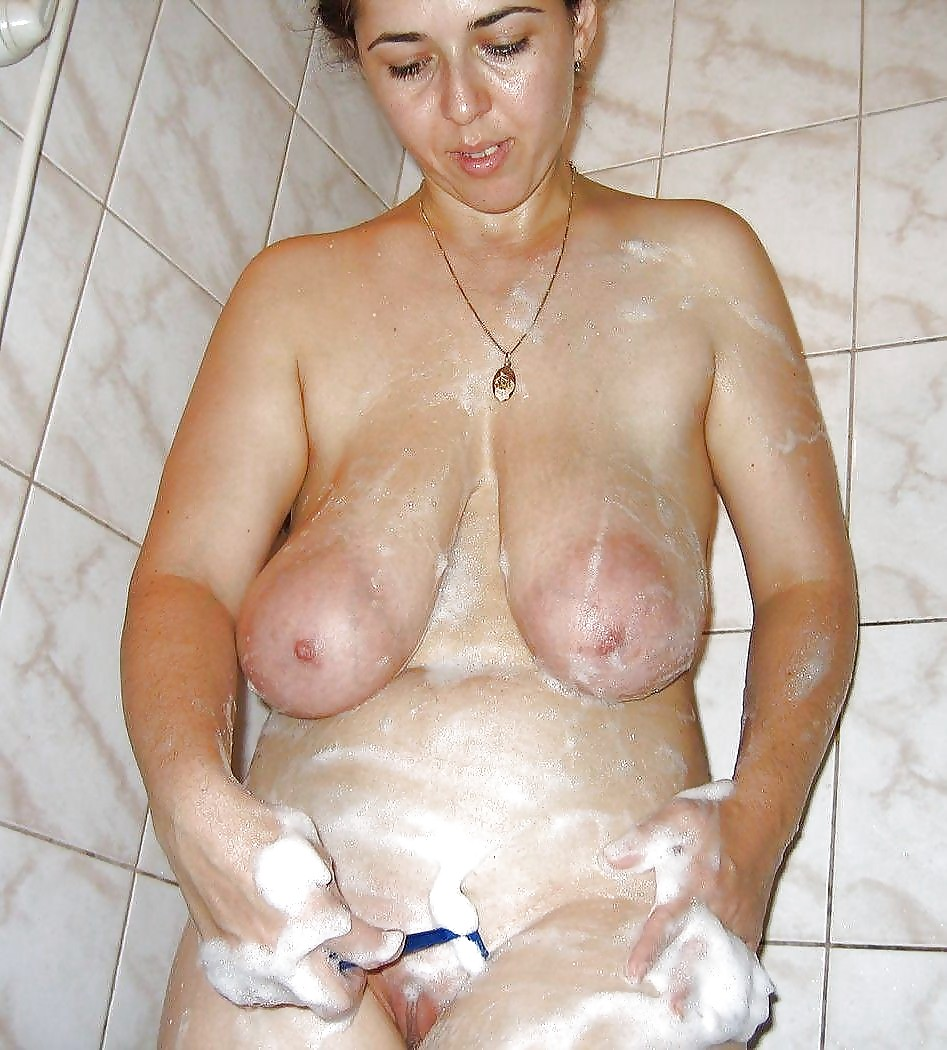 Mature and saggy