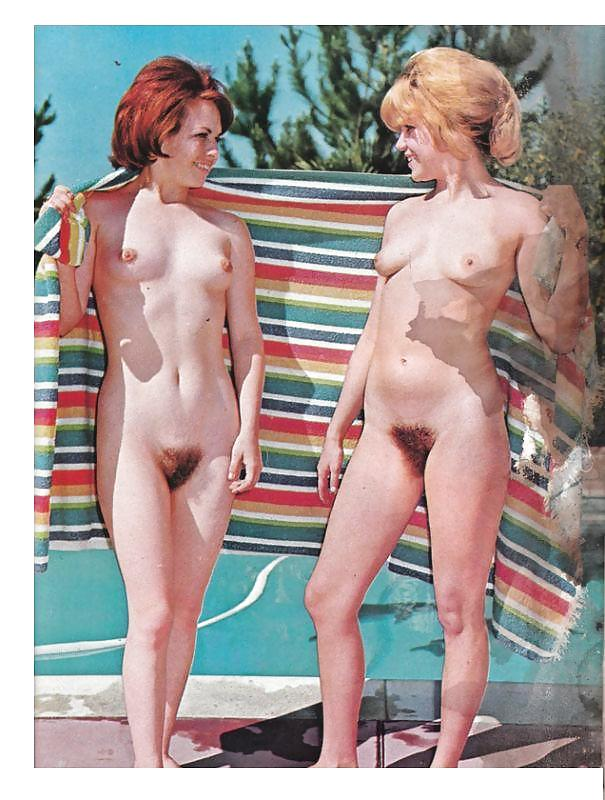 Have classic nudist camp magazines